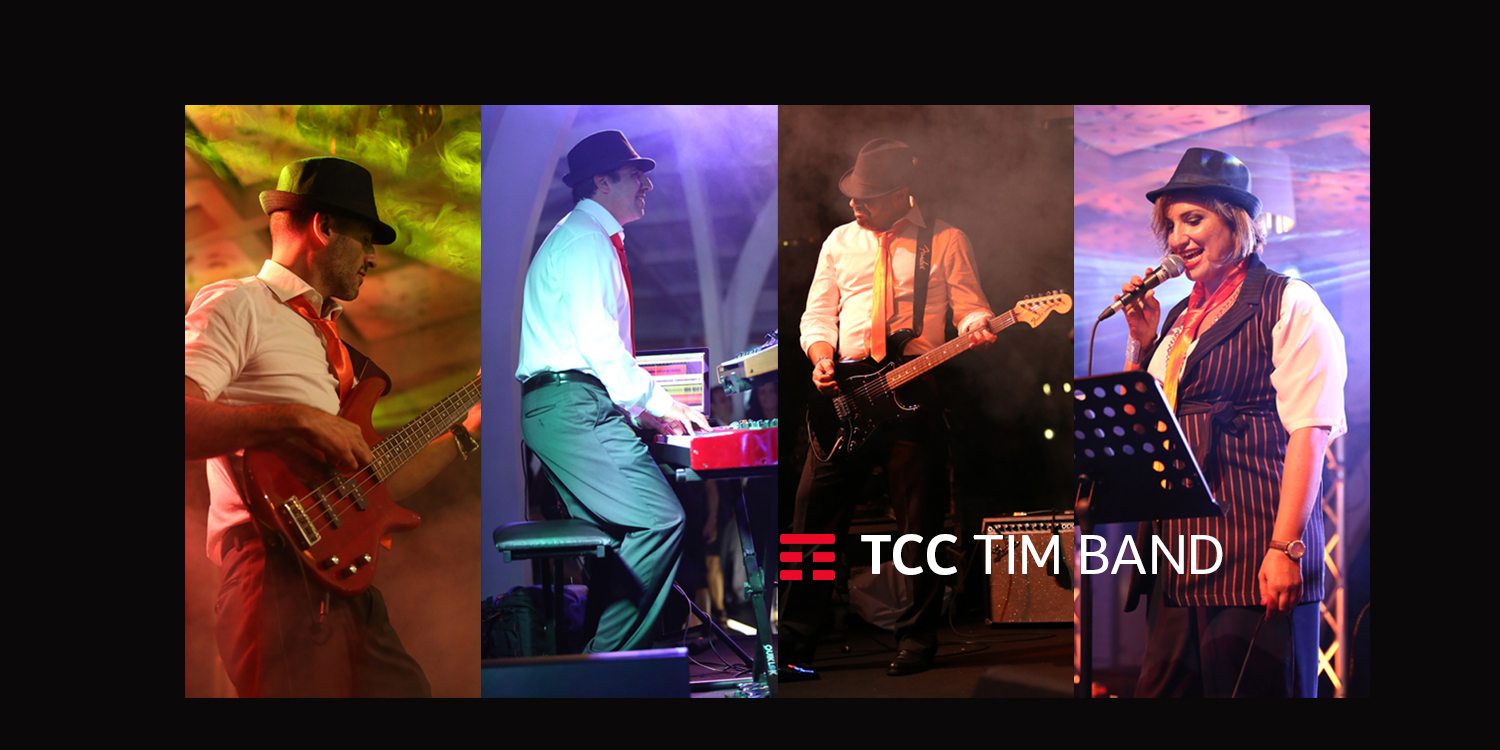 Cover TCC TIM BAND si connette a Dynamo Camp