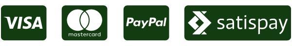 Dona Ora con PayPal, Visa o Mastercard