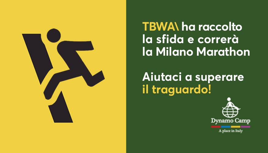 Cover TBWA per Dynamo Camp