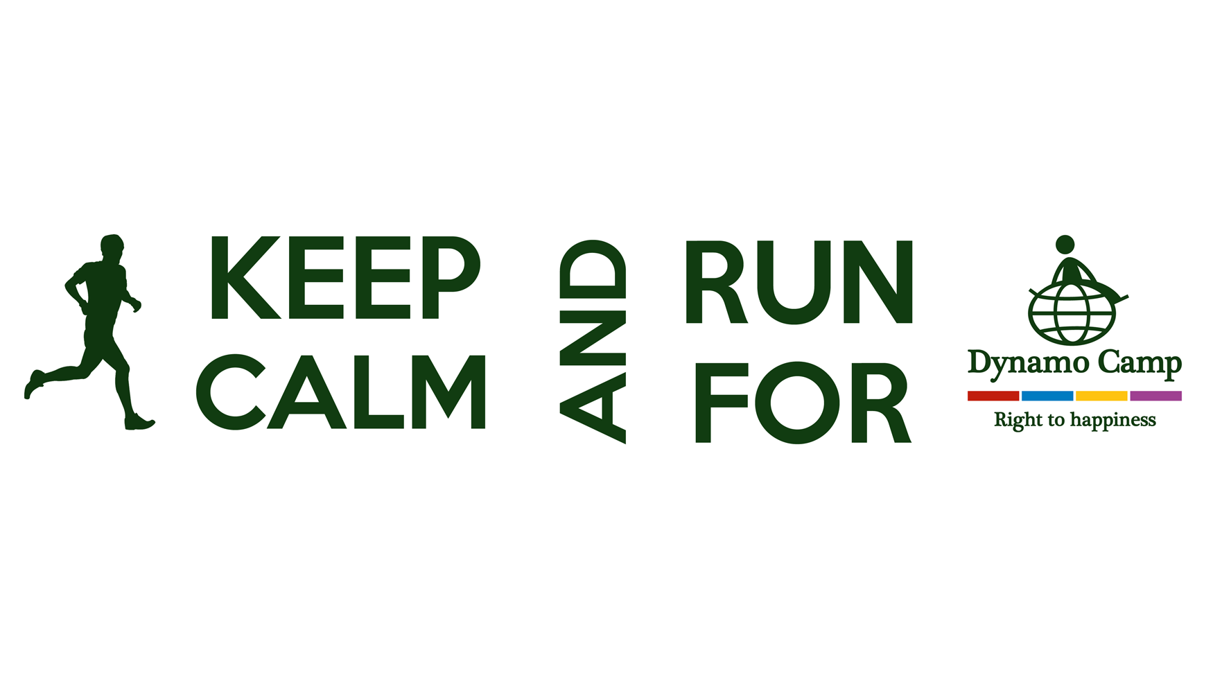 Cover KEEP CALM AND RUN FOR DYNAMO CAMP