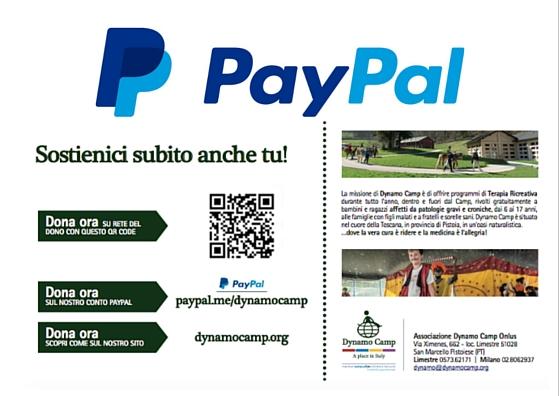 Cover PAYPAL Italia per i bambini di Dynamo Camp - 5
