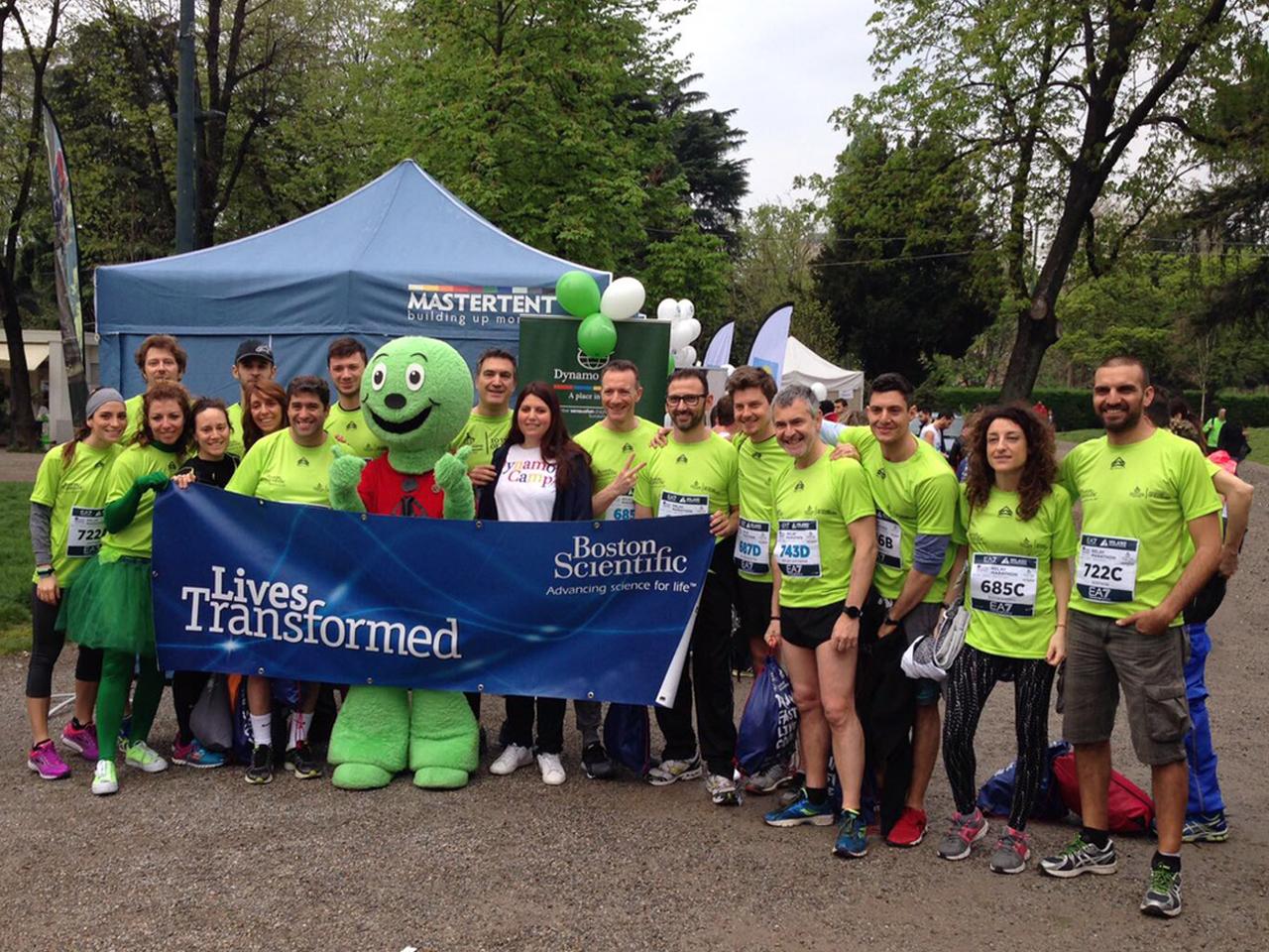 Cover Boston Scientific e Dynamo Camp: Insieme alla Milano Marathon