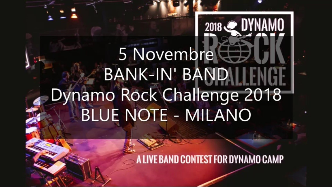 Cover BANK-IN' BAND per DYNAMO ROCK CHALLENGE 2018