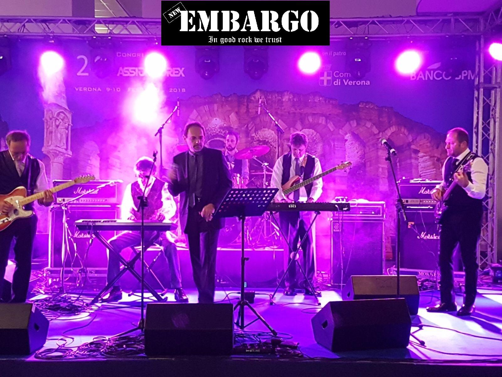 Cover New Embargo Band per Dynamo Rock Challenge 2018