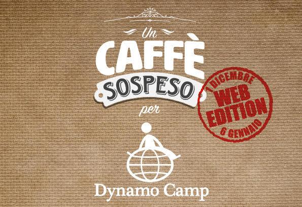Cover Un Caffè Sospeso per Dynamo Camp