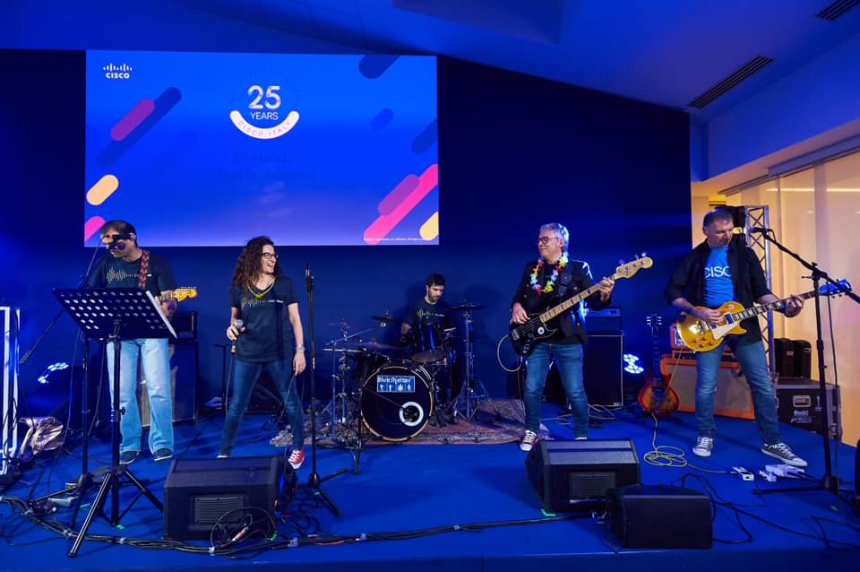 Cover BLUE SHELTER BAND ANCORA AL BLUE NOTE X LA DYNAMO ROCK CHALLENGE