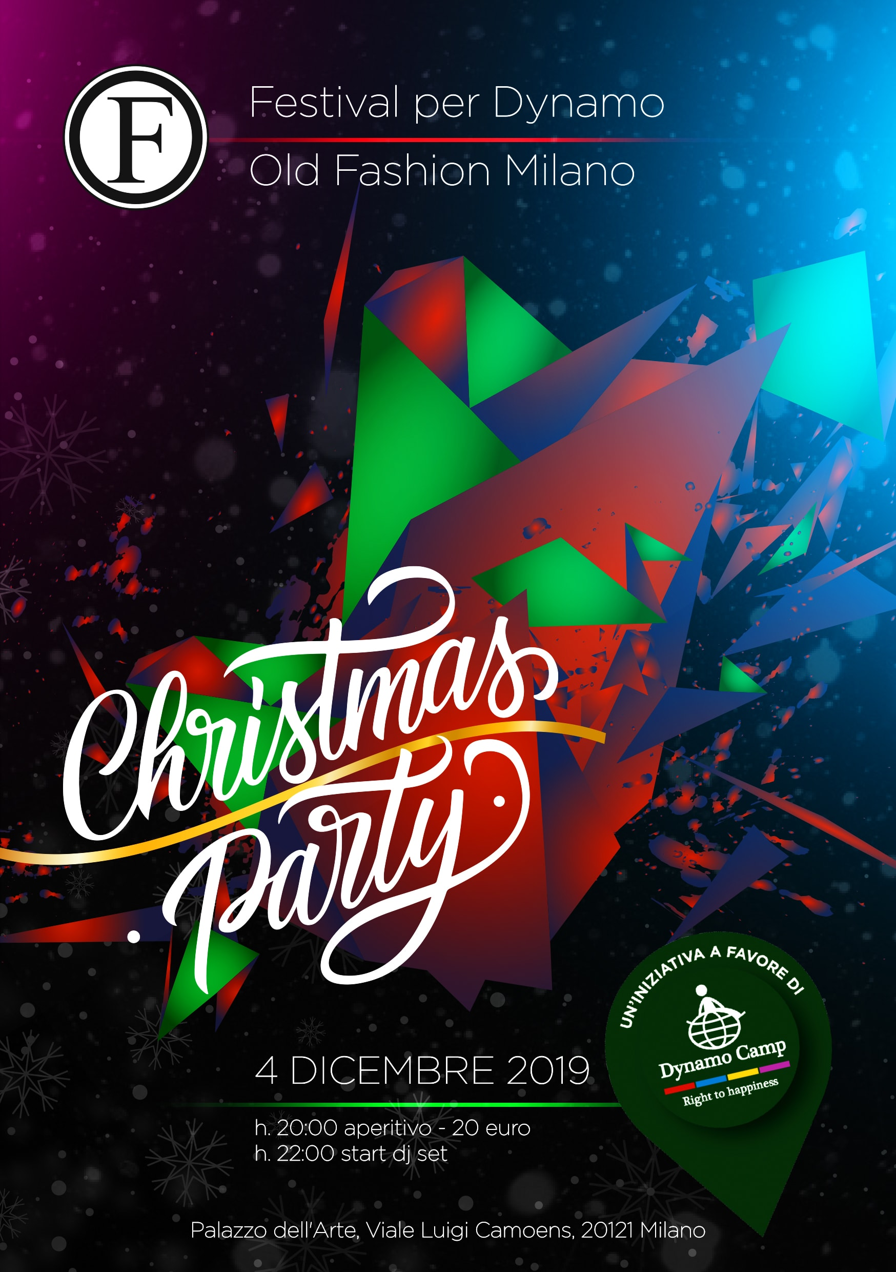 Cover Milano – Festival per Dynamo: Christmas Party @ Old Fashion