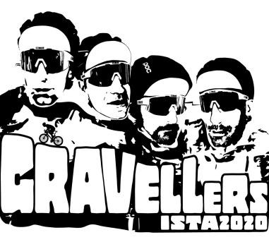 Cover Gravellers, da Rimini a Istanbul in bicicletta… in sette giorni, per Dynamo Camp