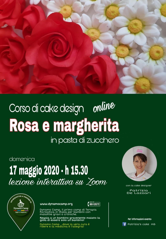 Cover CORSO ONLINE DI CAKE DESIGN PER DYNAMO CAMP