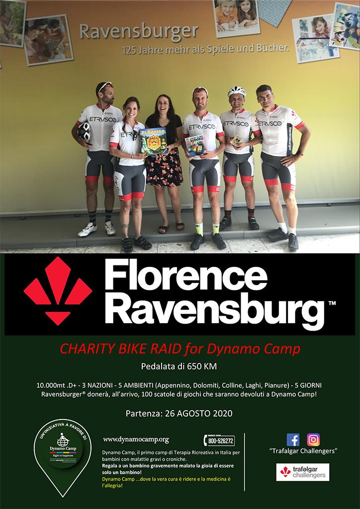 Cover CHARITY BIKE RAID  FLORENCE - RAVENSBURG