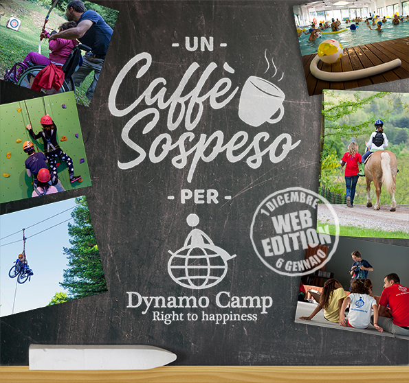 "Cover Un Caffè Sospeso per Dynamo Camp ""WEB EDITION"""